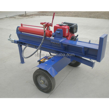 Mobile diesel engine type super split log splitter for sale
