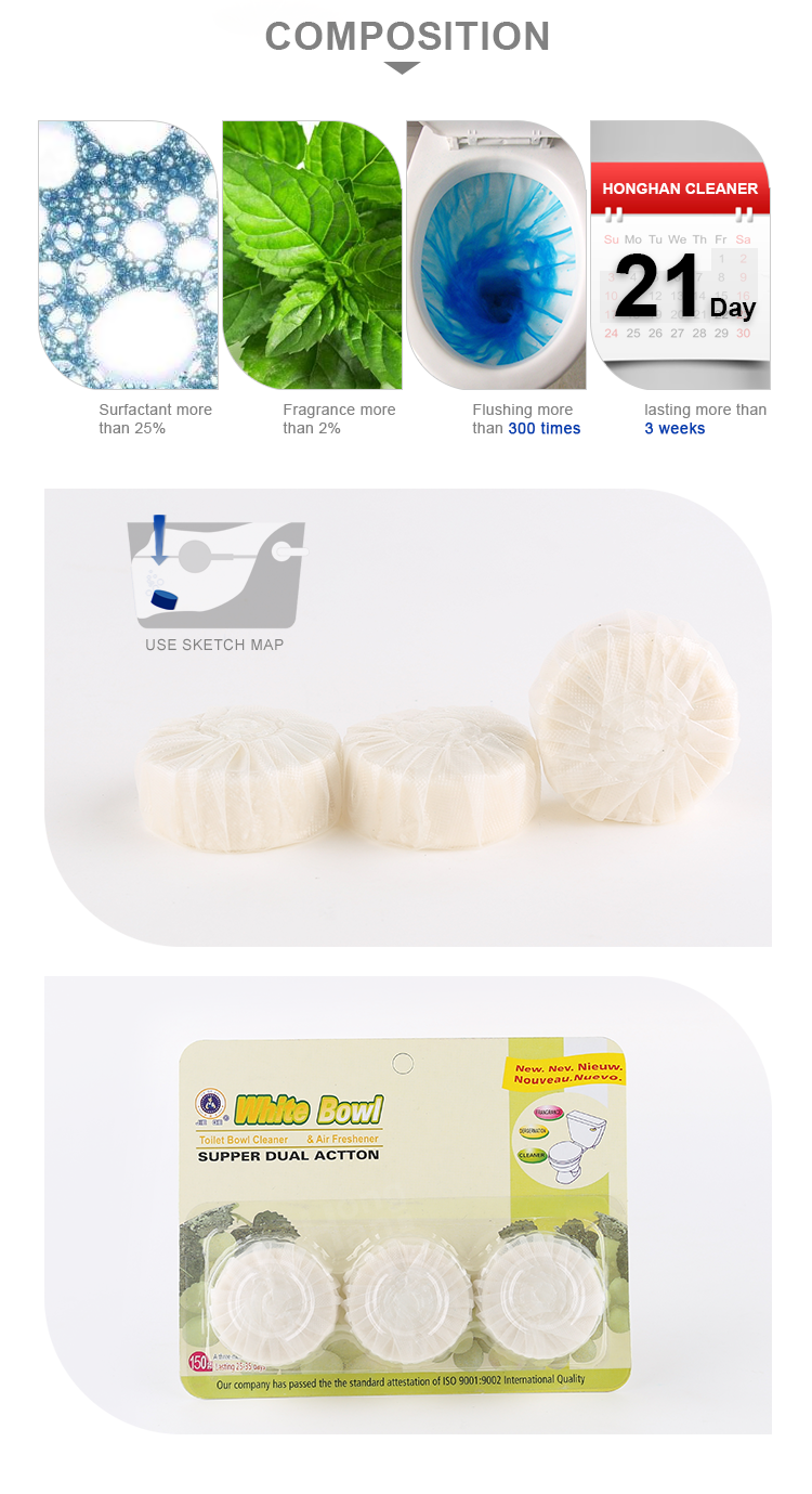 Best brand names cheap eco chemical formula freshener detergent toilet bowl tablets tabs in india