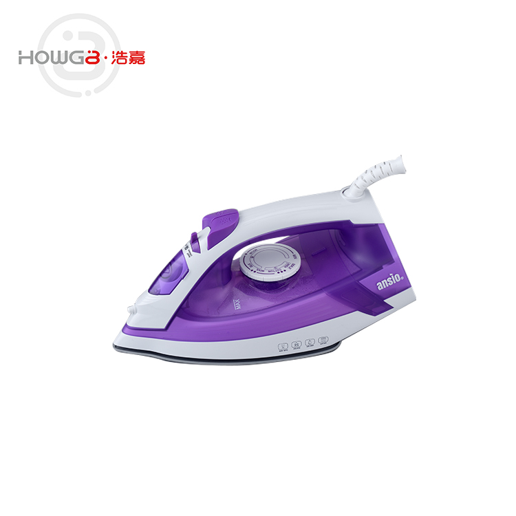 Factory price NON-STICK electric press heavy dry steam iron