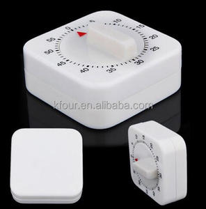 Factory Novelty Kitchen Timer White Square 60-Minute Mechanical Digital Timer Counting for Kitchen