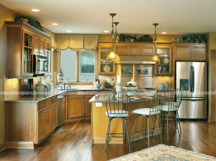 Discount Efficiency Professional Pvc Rubber Wood Kitchen Unit