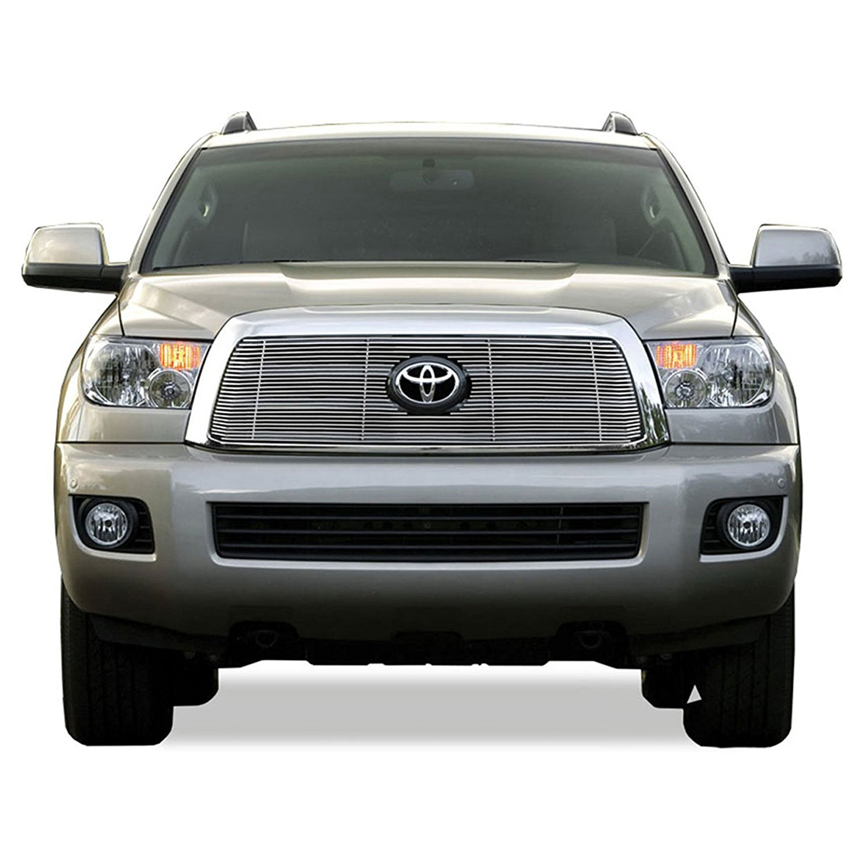 Premium FX 1pc Chrome Top Billet Grille Insert for 2008-2013 Toyota Sequoia