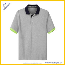 Blank wholesale fitness clothing pique polo shirt