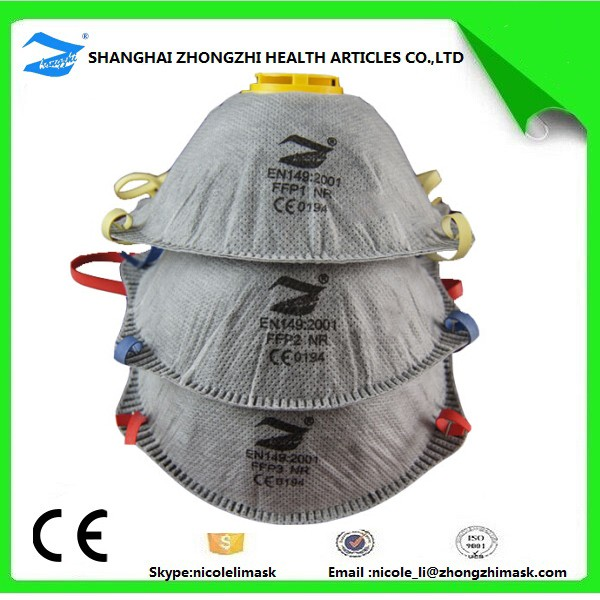 Industrial Respirator With Activated Carbon Filter