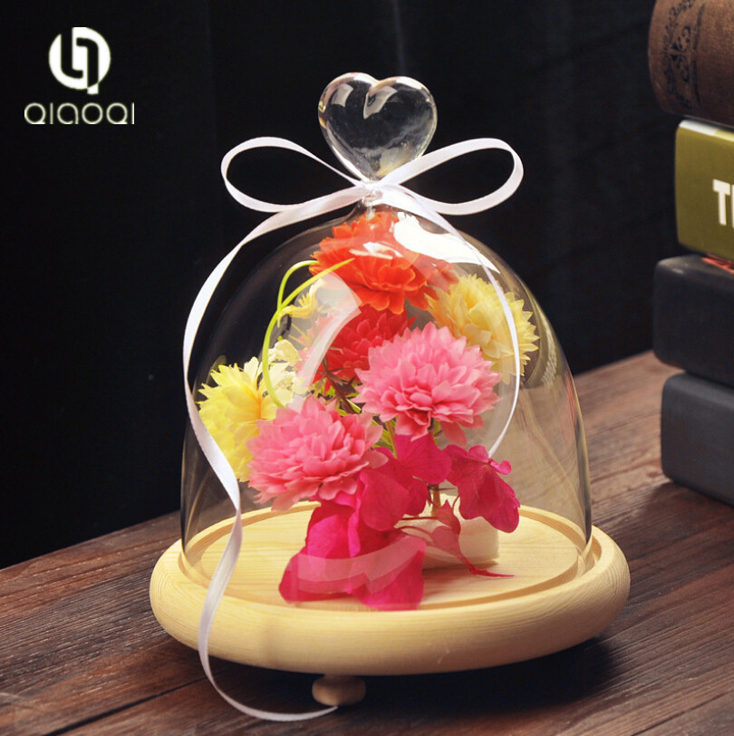 Manufacturer Experience Classical Design decorative glass dome for christmas