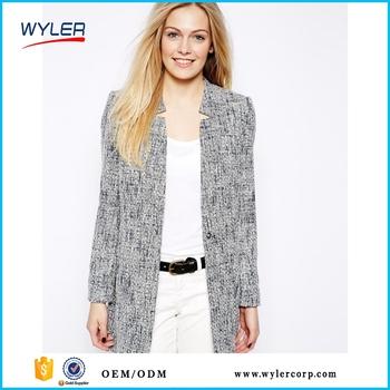 dcb302d54 Summer Hot Selling High Fashion Simple Design Women Jacket Long Winter  Coats Ladies Women Elegant Clothing Manufacturer In China - Buy High  Fashion ...