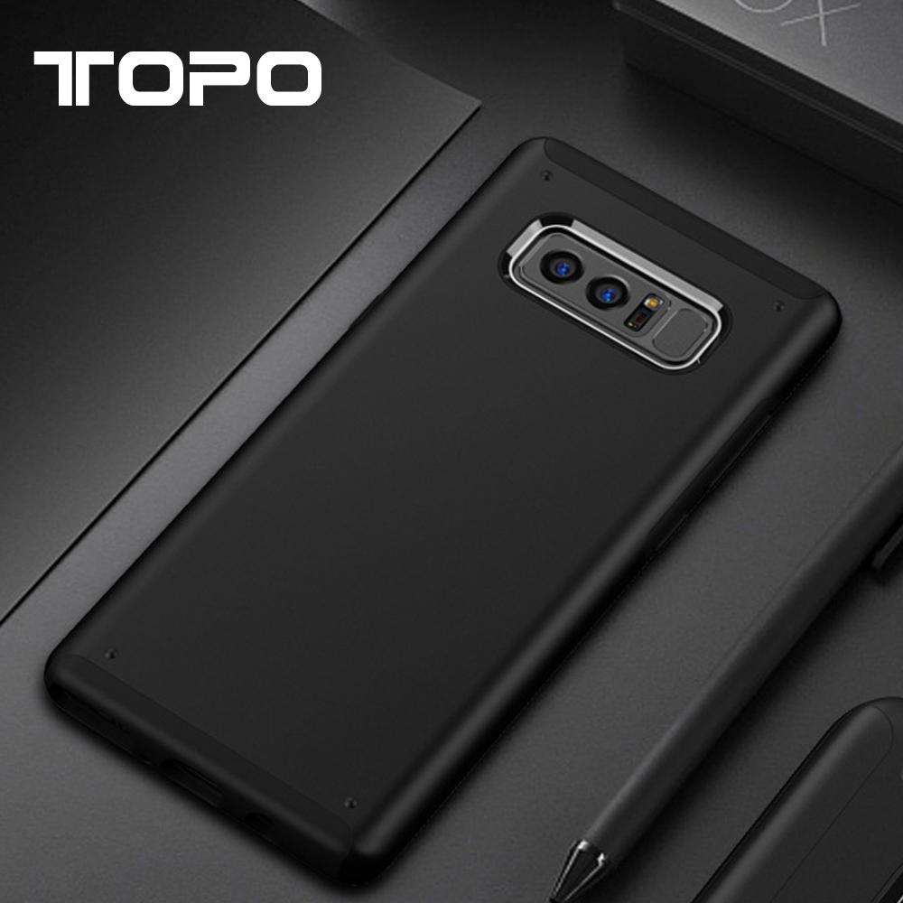Factory direct sale New hoting silicone shockproof tpu anti-slip phone shell case for Samsung note 8 s8 s8 plus