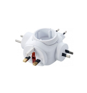 Europea world adapter suitable for Europeans travel to China Australia UK USA