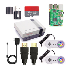 Raspberry Pi 3 Kit DIY Complete Wifi & Bluetoothal Raspberry Pi 3 Model B +Power Supply+Retroflag NESPi Case+SD card+Controllers