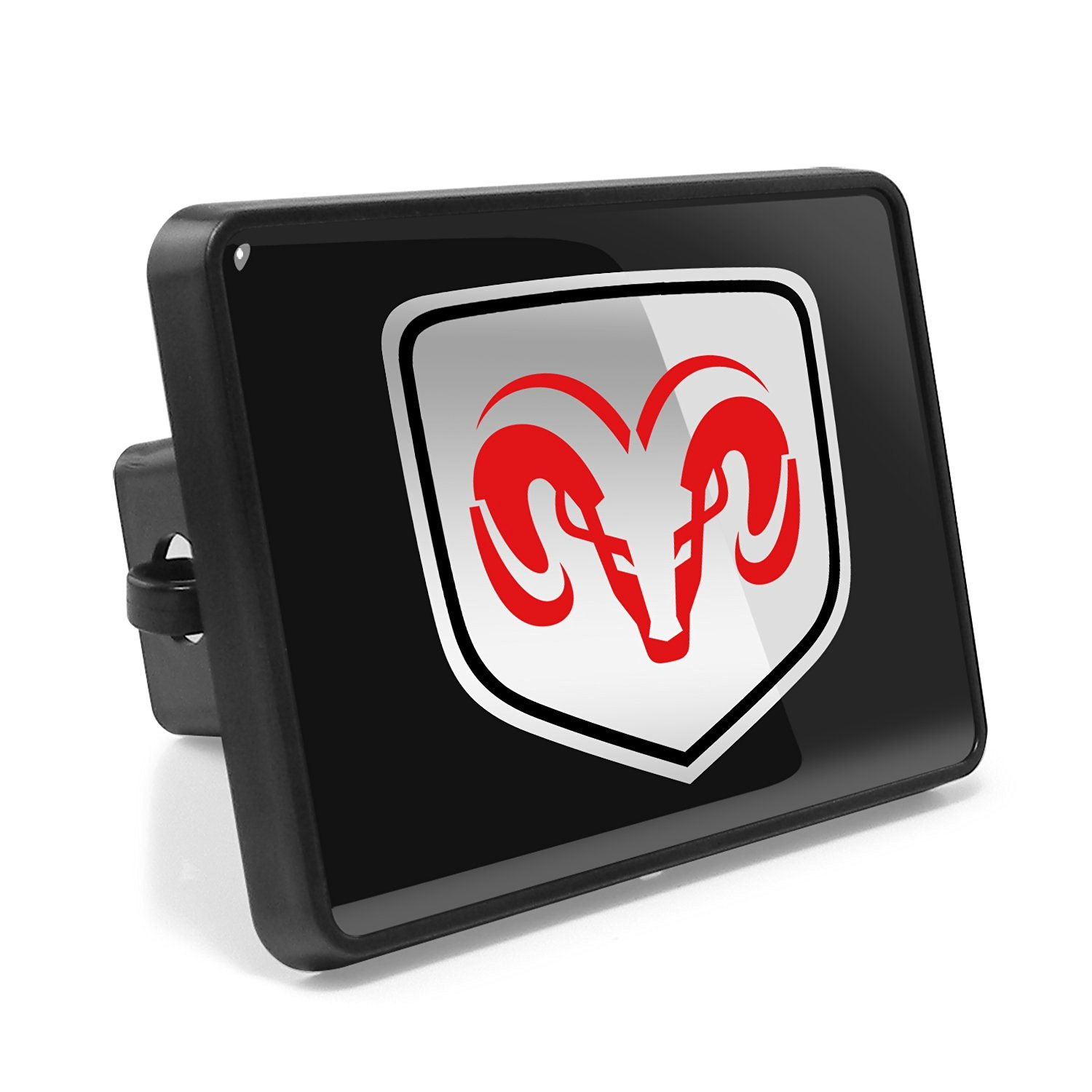Buy Dodge Ram Abs Plastic 2 Plug Tow Hitch Cover In Cheap Price On
