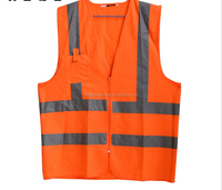 High Quality Sunway Warning Clothing Vest Reflective Safety Vest Coat Sanitation vest Traffic Safety