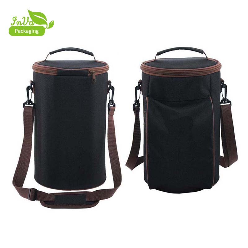 6 Bottle Travel Insulated Wine Carrying Cooler Tote Bag Product On