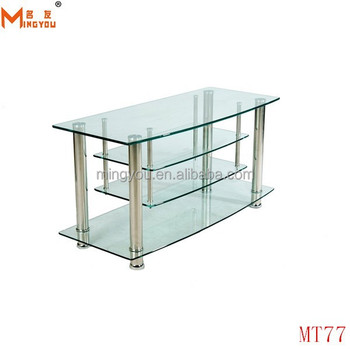 monarch specialties tv stand. Monarch Specialties Metal TV Stand With Tempered Clear Glass 42-Inch Tv