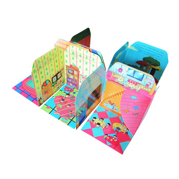 Custom 3d Pop Up Activity Book Printing Service Hot Selling Cheap Puzzle Book For Kindergarten Kids Learning With Oem Service Buy Fancy Design Books