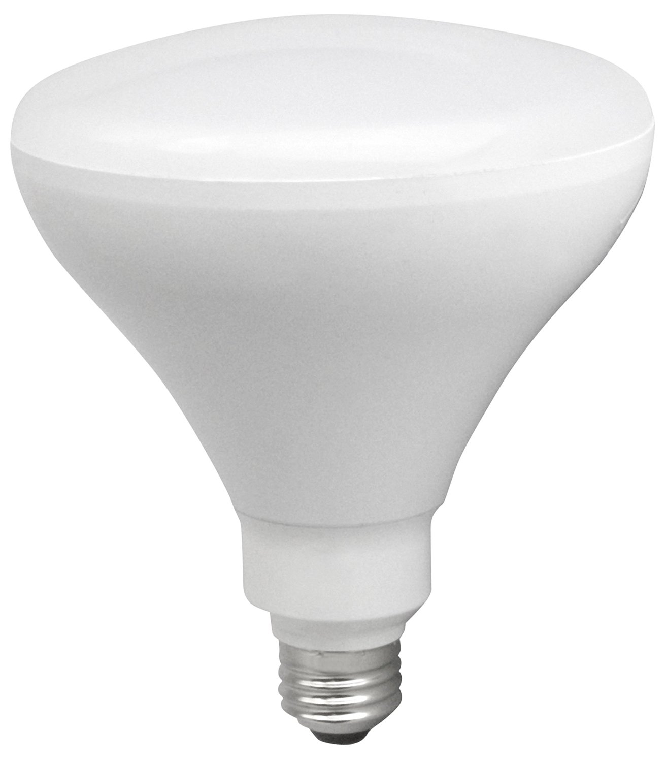 TCP 85 Watt Equivalent 1-pack, BR40 LED Reflector Light Bulbs, ENERGY STAR Certified, Dimmable, Soft White RLBR4014W27KD