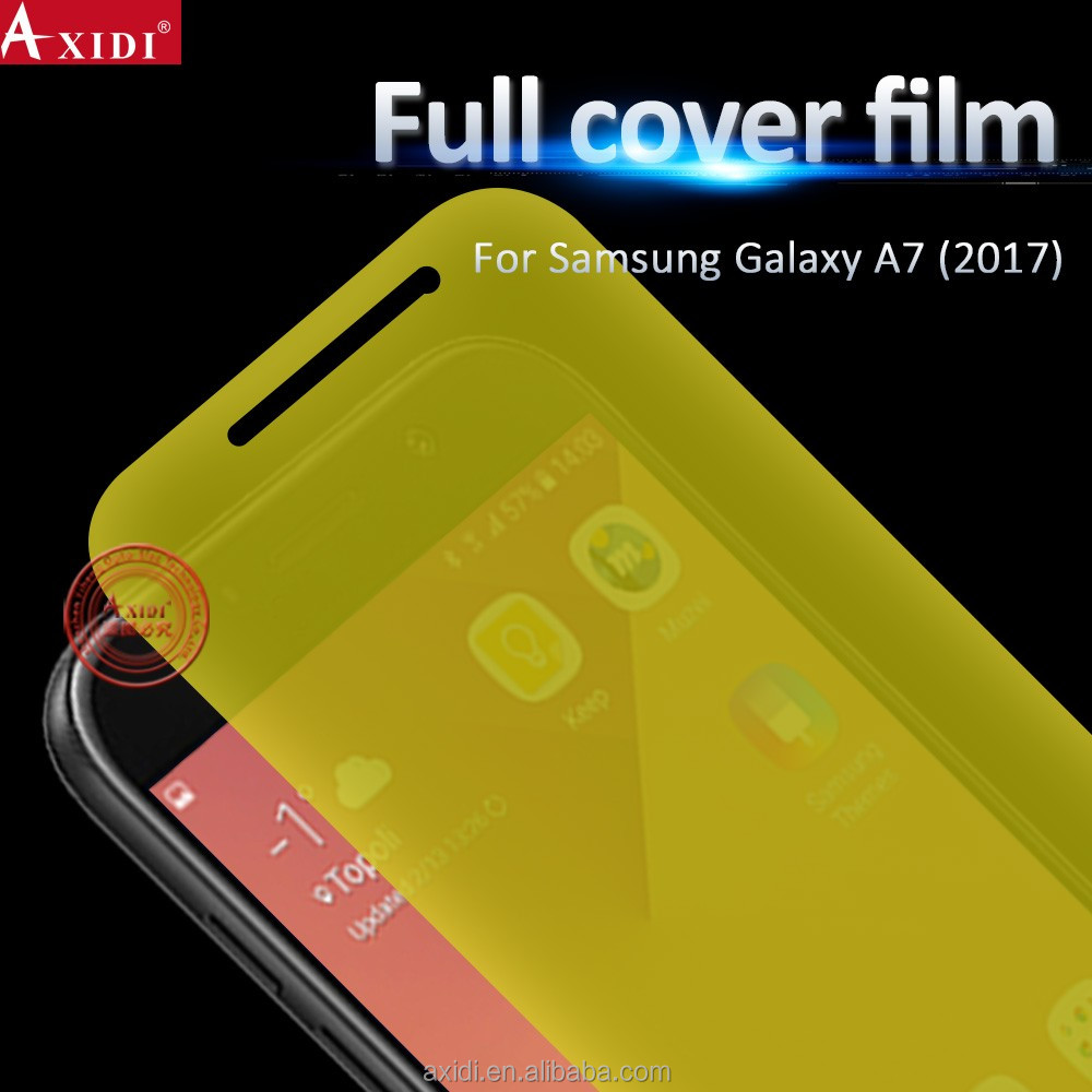 Ultra Thin HD Clear Full Cover TPU LCD Screen Protector For Samsung Galaxy A7 2017