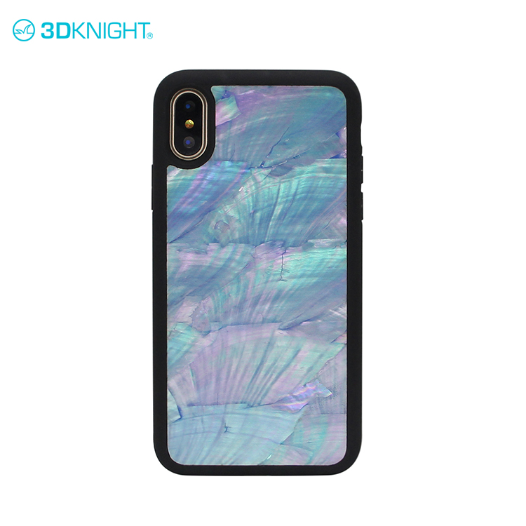 Red color seashell cell phone cover for sublimation for iphone x phone premium quality case shockproof
