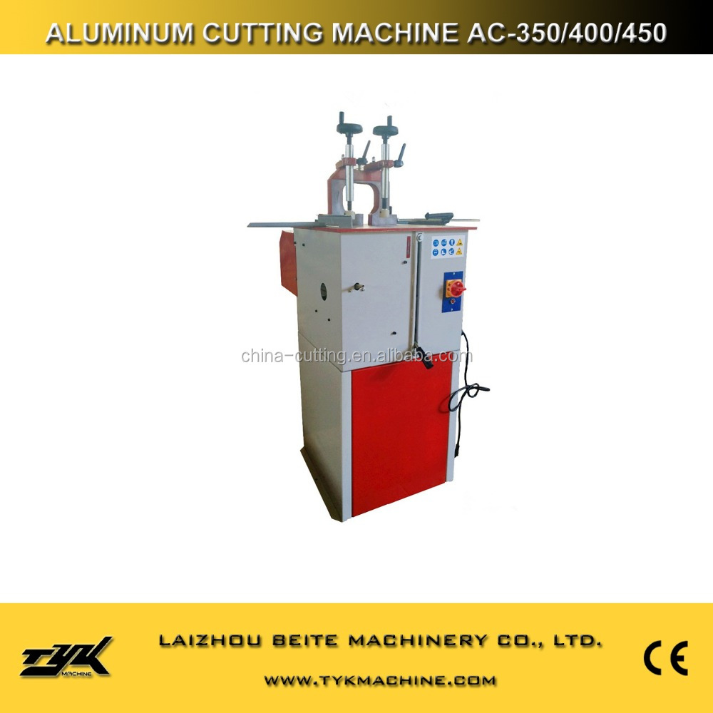 aluminum window making machine cutting aluminum tools