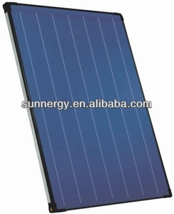 Energy pressurized flat plate solar thermal collectors