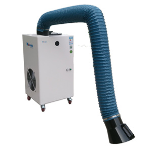 small fume extractor industrial for welding, carbon dioxide gas shielded arc welding/soldering smoke extractor