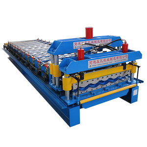 High quality steel rib roof tile roll forming machine in japanese