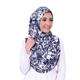 wholesale low price women dubai silk scarf hijab selendang