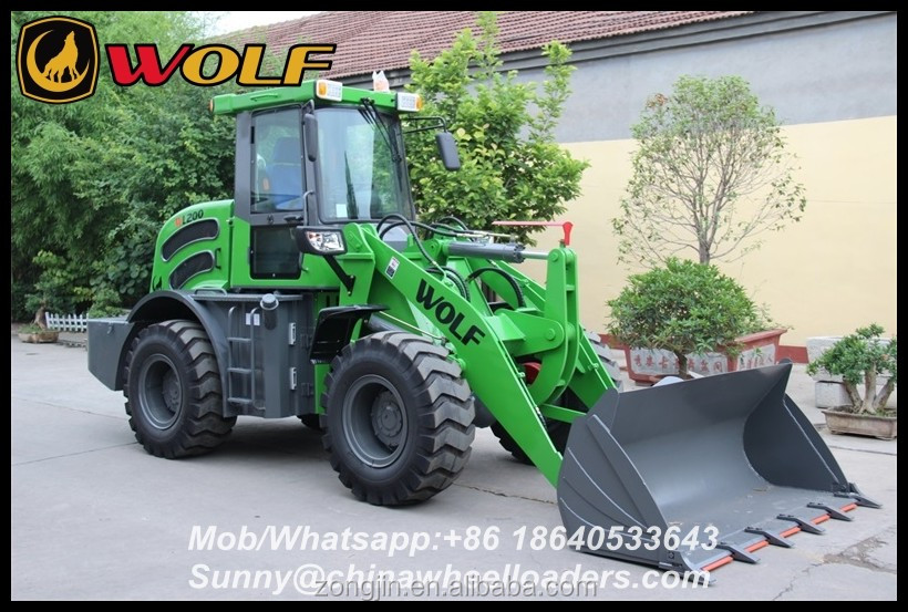 Zl20 Construction Machine Shovel Compact Loader with CE/Euro3b/EPA4