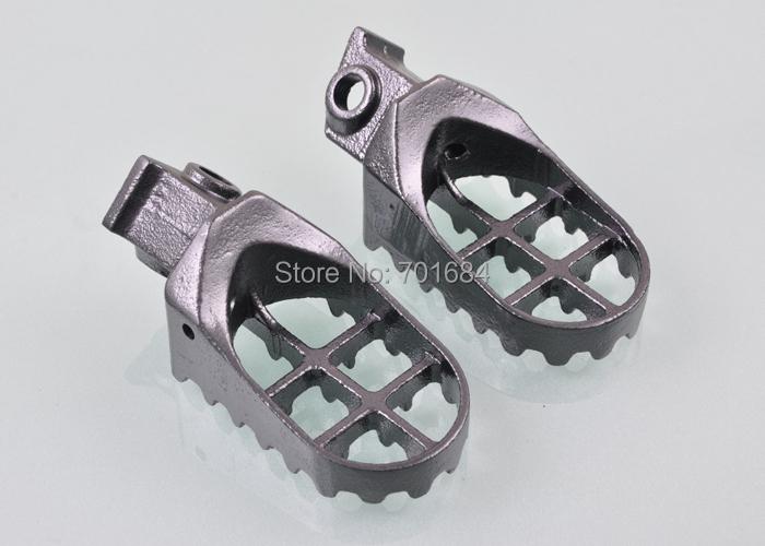 Новый черный подножки для ног для KTM 50 65 SXR приключения 125 250SX EX-C M XC [ MP100 ]