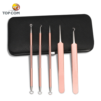 Professional beauty pimple blackheads extractor remover