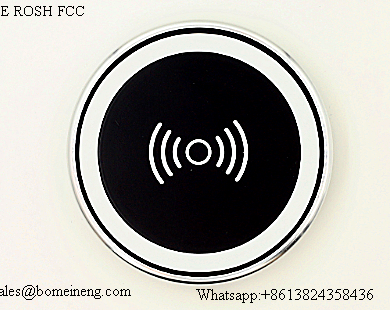New BMN806 New China factory supply slim design 76% high efficiency universal power qI wireless chargers