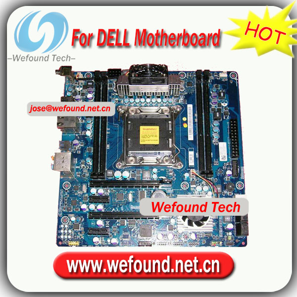 100% Working For Dell Desktop Motherboard For Chipset X79 Socket ...
