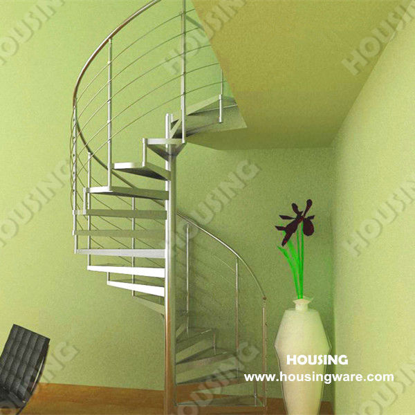Modern Indoor wrought iron spiral staircase/stair