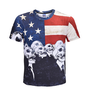 custom men dry fit sublimated short sleeve t shirt