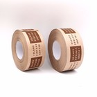 Wholesale Industrial Reinforced Fiber Water Activated Kraft Gummed Tape with logo printed 2-Inch x 60Yards