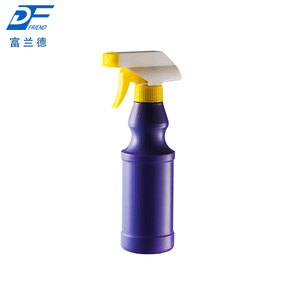 Customized 300ml 500ml chemical hdpe mist water trigger spray bottle