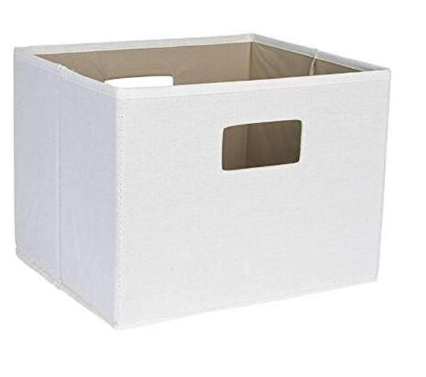 High Quality Multifunction Home Essentials Heavy Duty Folding Nonwoven Fabric Organizer Storage Box with Cutout Handle Cardboard