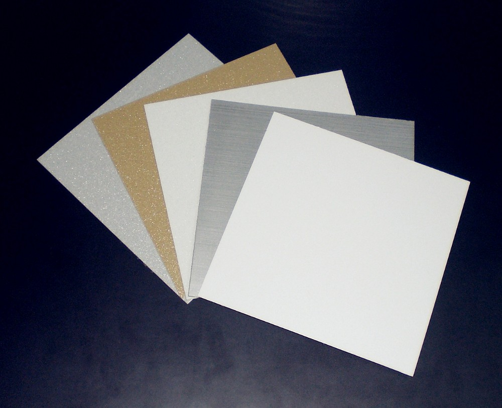 0 7mm Gold Silver White Sublimation Blanks Aluminum Sheets
