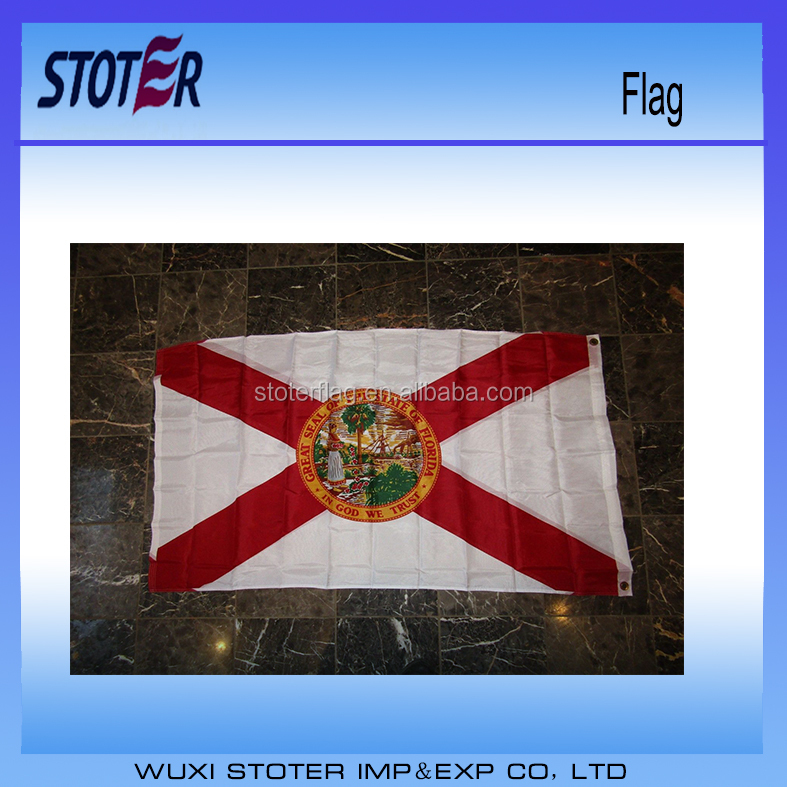 3x5 State of Florida Flag 3'x5' Banner Super Polyester