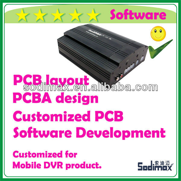 Private Software source code design for MDVR