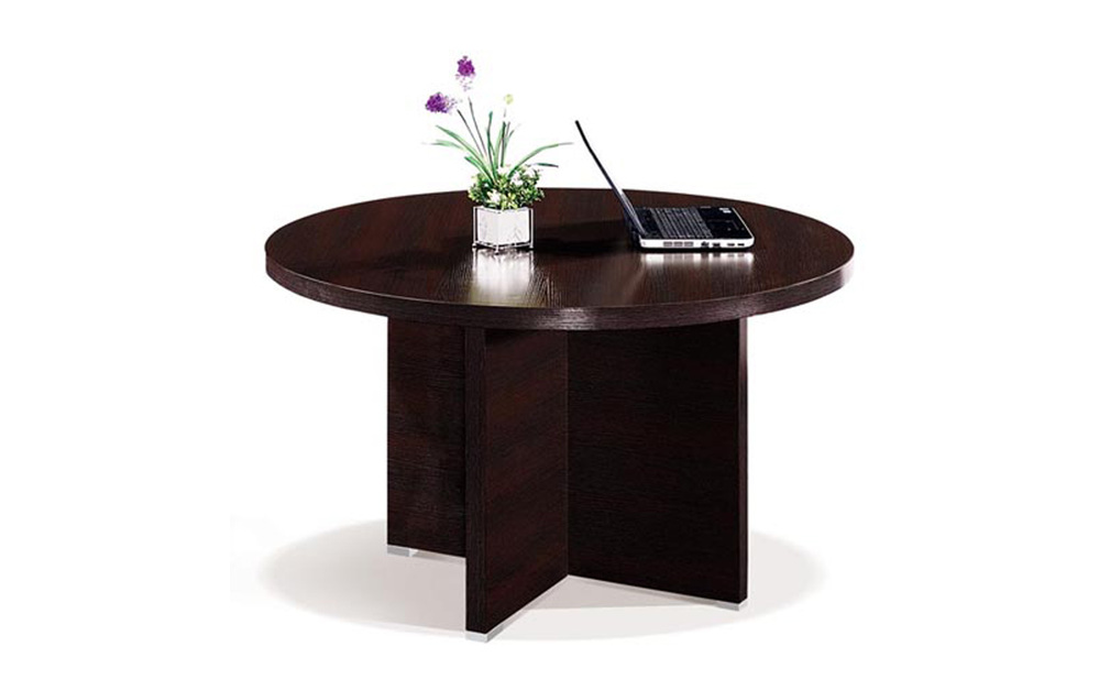 Cf Furniture Office Small Round Table Black Teacoffee Table Desk – Small Round Table for Office