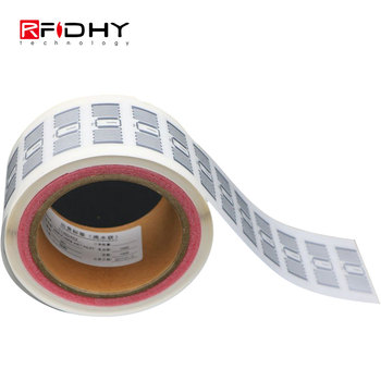 Long Reading Range Asset Tracking UHF Wet Inlay RFID Tag 900MHz