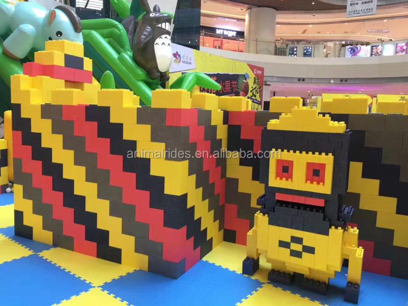 Mz newest kids epp foam blocks imagination building block for Foam building blocks for houses
