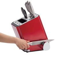 New Style Electric Knife Set With Sharpener, Dry And Disinfection