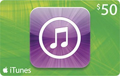 iTunes $50 gift Card for AED 200