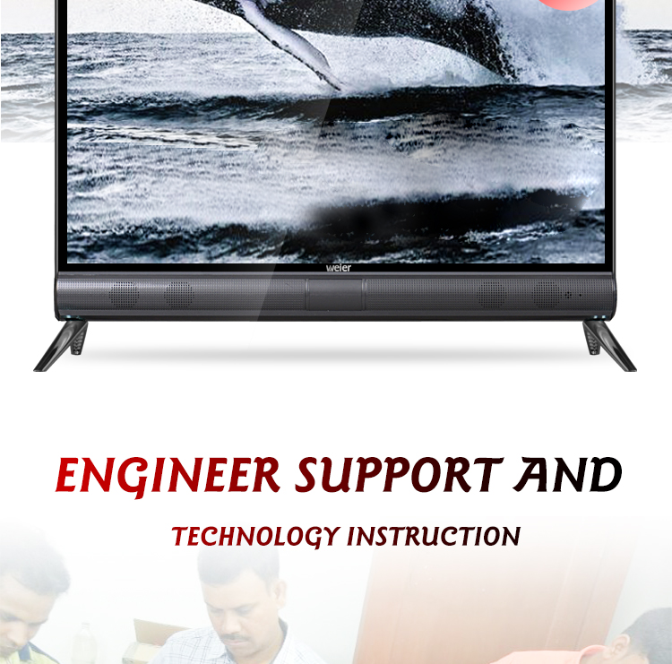 Weier TV4K HDR Ultra HD UHD LED Television Smart TV 4K