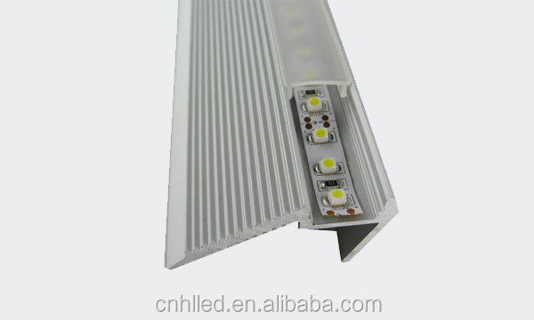 New Hot!!! Anodized Aluminum profile for LED for stairs, kitchen, office, house