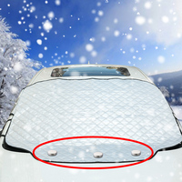 Magnetic Car Windshield Snow Cover With Mirror Snow Cover Fit for Most Vehicle