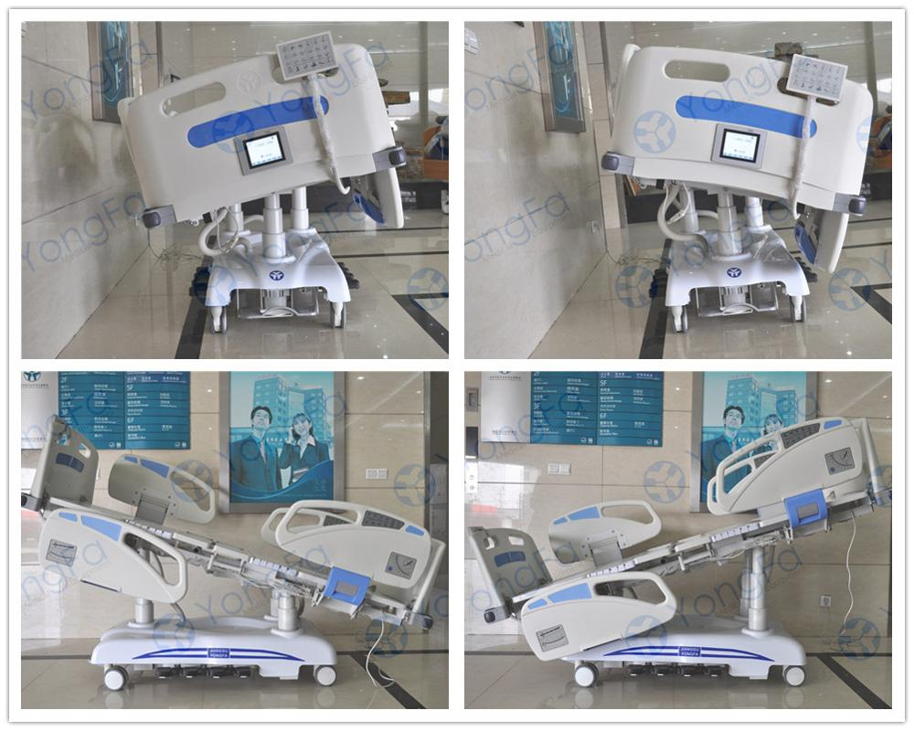 YFD5638K(I)  Eight Function Electric Medical Bed With Weighing Scale
