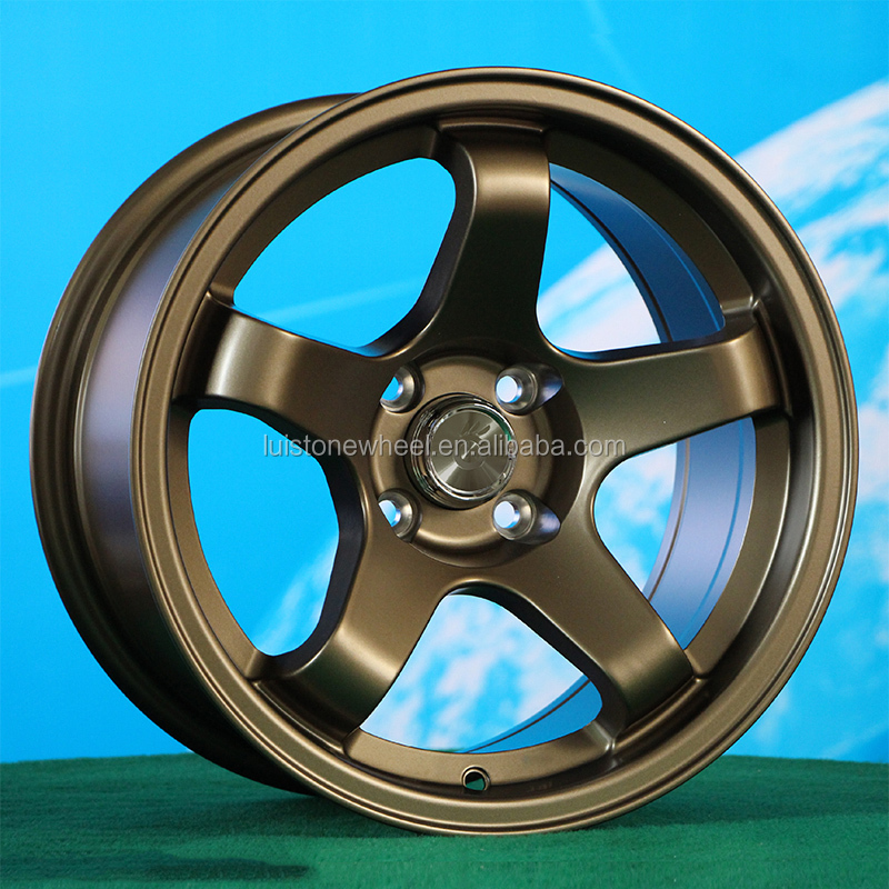 15 17 inch concave 5 spoke rota wheel replica alloy wheel rim for passenger car