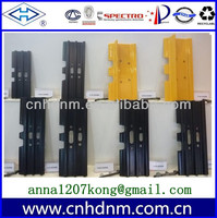 excavator steel and rubber track,track shoes,track pad